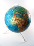 Planet earth. Globe for education Royalty Free Stock Photo