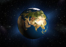 The planet earth vector illustration