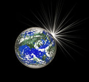 Planet Earth. Royalty Free Stock Photo