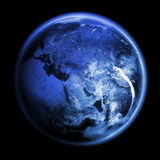 Planet Earth 3d render Stock Images
