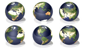 Planet Earth Royalty Free Stock Photos