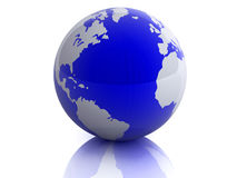 Planet the Earth. The conceptual image of a planet the Earth Royalty Free Stock Image