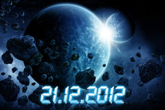 Planet Earth Apocalypse Royalty Free Stock Photo