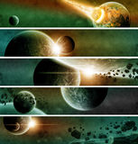 Planet Earth Apocalypse. Made with photoshop cs5 Stock Photography