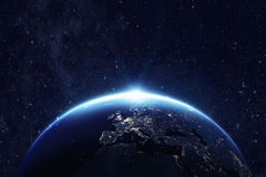 Free Planet Earth At Night Royalty Free Stock Images - 72442039