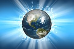 Planet Earth Background Royalty Free Stock Image
