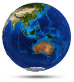 Planet Earth 3d render Stock Photography