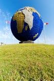 Planet Earth Globe. Near Bahrain International Airport in Muharraq Stock Image