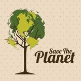 Planet earth vector illustration
