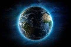 Planet Earth Illustration Stock Image