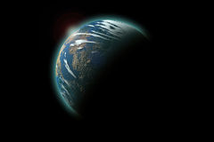 Planet Earth isolated royalty free stock photo