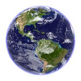 Planet Earth Isolated Royalty Free Stock Image