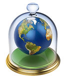 Planet earth is protected Royalty Free Stock Photography