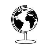 Planet earth school supply Stock Photos