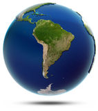Planet Earth - South America Stock Image