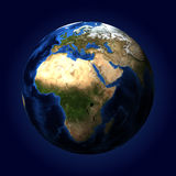 The planet earth Stock Photography