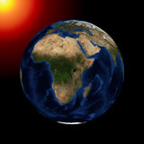 The planet earth Royalty Free Stock Image