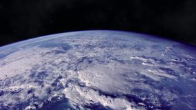 Planet Earth. From the space with dramatic view. The elements of this image furnished by NASA stock video footage