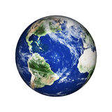 Planet earth in space Stock Photo