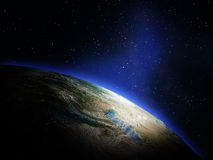 Planet Earth from space Royalty Free Stock Image