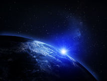 Planet Earth from space Stock Photography