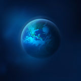 Planet Earth in space Stock Photos