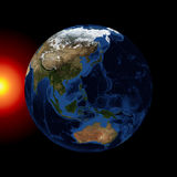 The planet earth Stock Photo