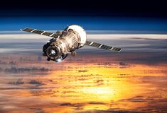 Free Planet Earth. Spacecraft Launch Into Space. Elements Of This Image Furnished By NASA Stock Image - 178487901