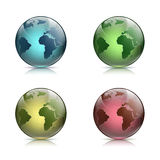 Planet Earth. Stock illustration. Royalty Free Stock Photography