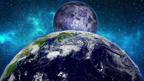 Planet Earth animation stock video