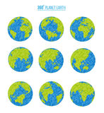 Planet earth. Vector illustration Royalty Free Stock Image