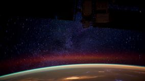 Planet Earth View from Space or the ISS stock video footage