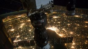 Planet Earth View from Space or the ISS stock video