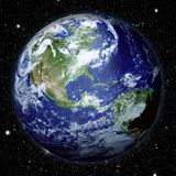 Planet Earth view Royalty Free Stock Photos