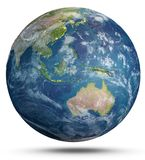 Planet Earth weather. 3d rendering Stock Photo
