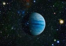 Planet - Elemente dieses Bildes geliefert von der NASA Lizenzfreie Stockbilder