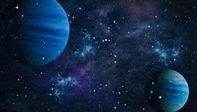 Planet - Elemente dieses Bildes geliefert von der NASA Lizenzfreies Stockbild