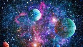 Planet - Elemente dieses Bildes geliefert von der NASA Stockbild