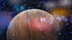 Planet - Elements of this Image Furnished by NASA Stock Photo