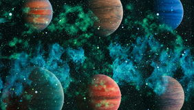 Planet - Elements of this Image Furnished by NASA Stock Photos