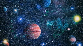 Planet - Elements of this Image Furnished by NASA Stock Photography
