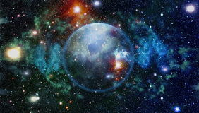 Planet - Elements of this Image Furnished by NASA stock illustration