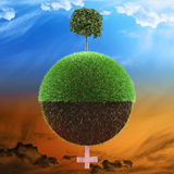 Planet environment concept Stock Photo