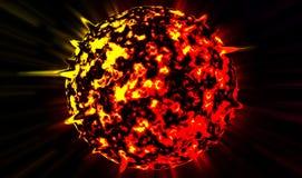 Planet explodes Stock Photos