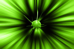 Planet explosion Royalty Free Stock Images
