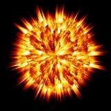 Planet explosion Stock Photos