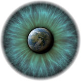 Planet eye Royalty Free Stock Image