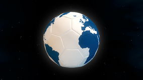 Planet football: World Cup stock video footage