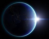 planet för jord 3d Beståndsdelar av denna avbildar möblerat av NASA annat Royaltyfria Foton