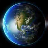 planet för jord 3d Beståndsdelar av denna avbildar möblerat av NASA annat Royaltyfri Foto